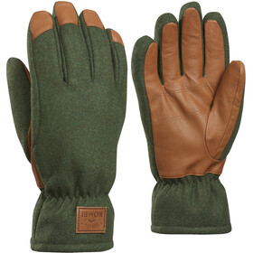 KOMBI Timber Gloves Herre dark olive